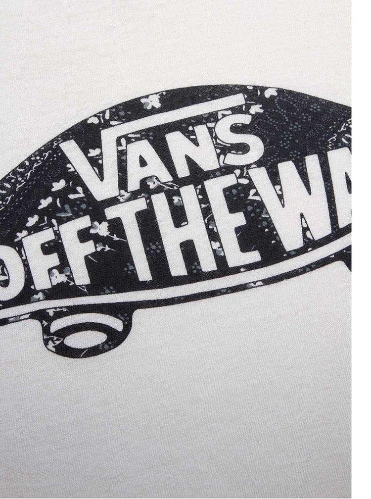 Tricou alb Vans Tropic Skateful