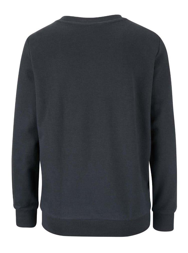Bluză gri închis TALLY WEiJL cu model discret pentru femei
