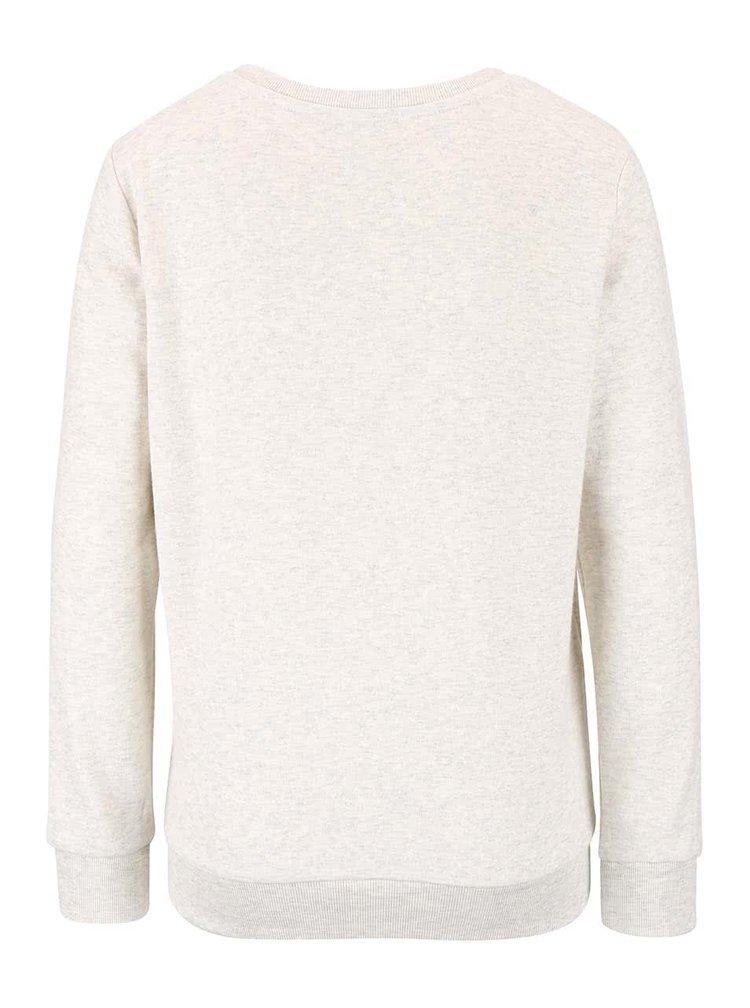 Bluza crem TALLY WEiJL cu model discret pentru femei