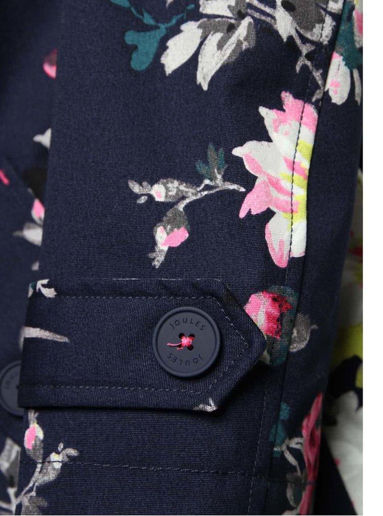 Modrá dámská nepromokavá bunda s potiskem Tom Joule Coast