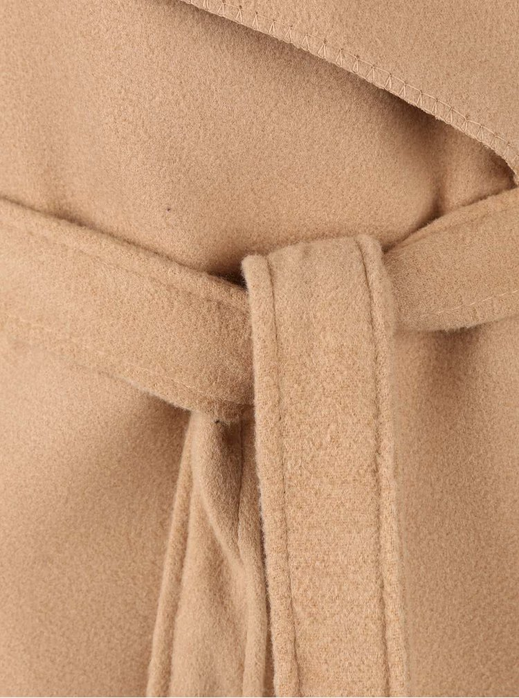 Béžový flaušový kabát Madonna
