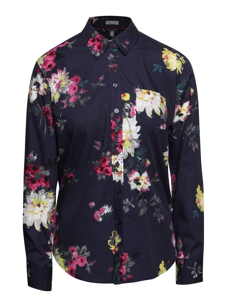 Modrá dámská květovaná košile Tom Joule Lucie