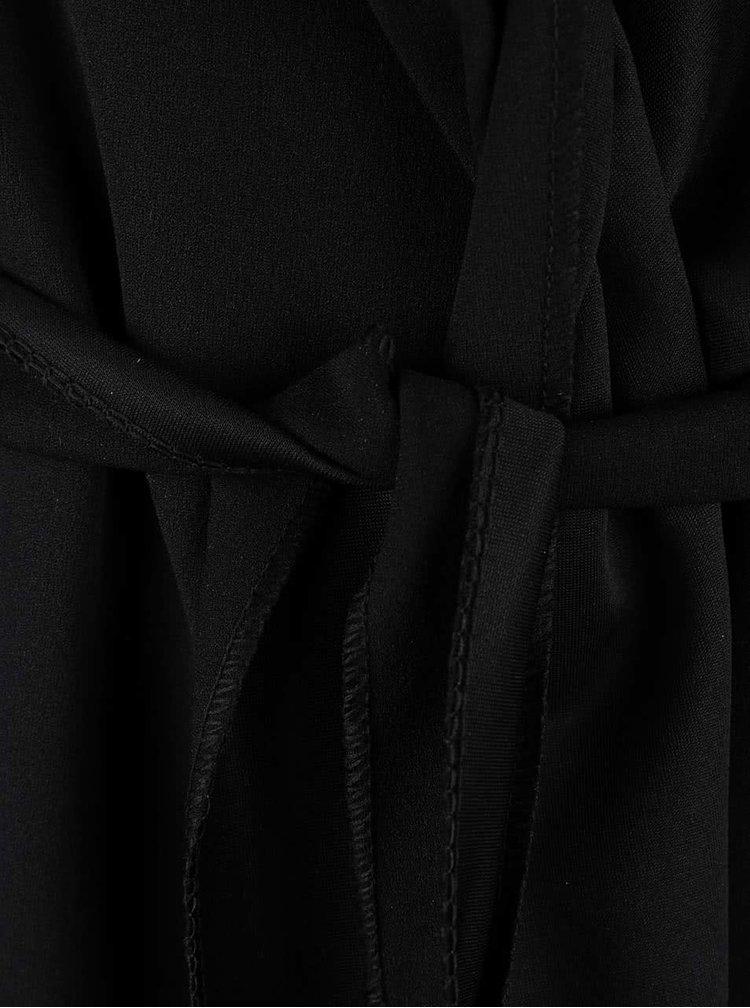 Černý delší blejzr s 3/4 rukávy Madonna