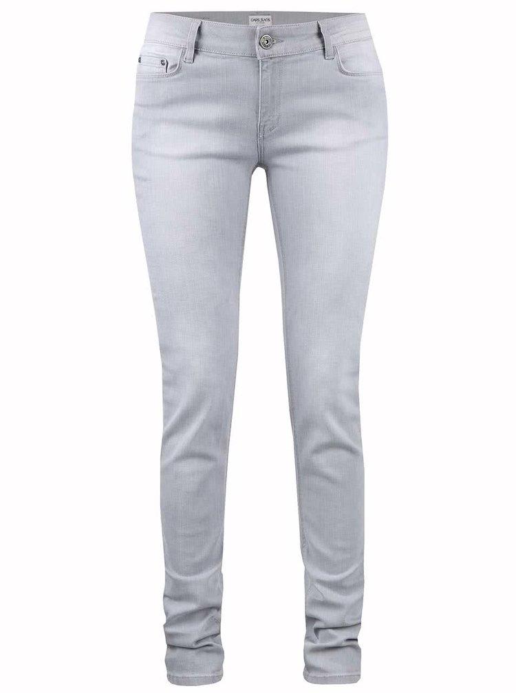 Světle šedé dámské džíny Cars Fleur