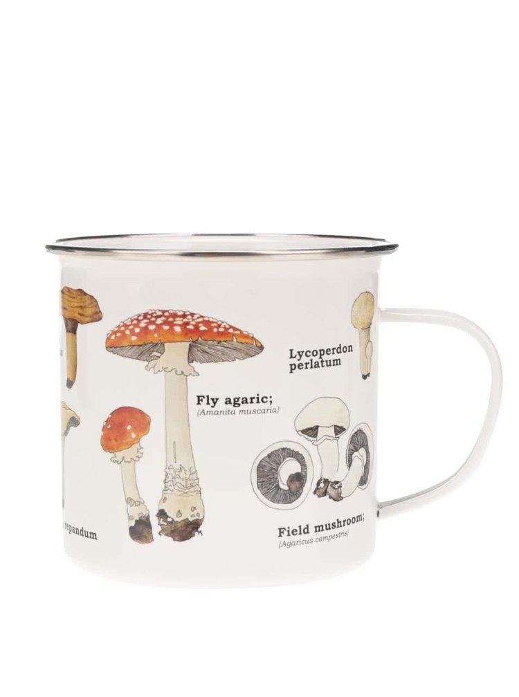 Cană cu imprimeu cu ciuperci Gift Republic