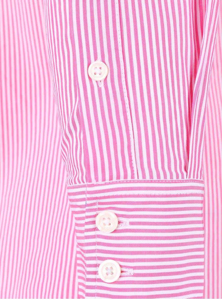 Camasa roz Tom Joule Lucei cu model in dungi