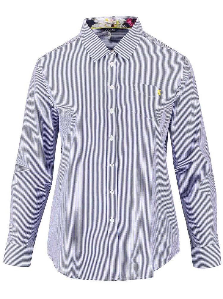 Modrá dámská pruhovaná košile Tom Joule Lucie