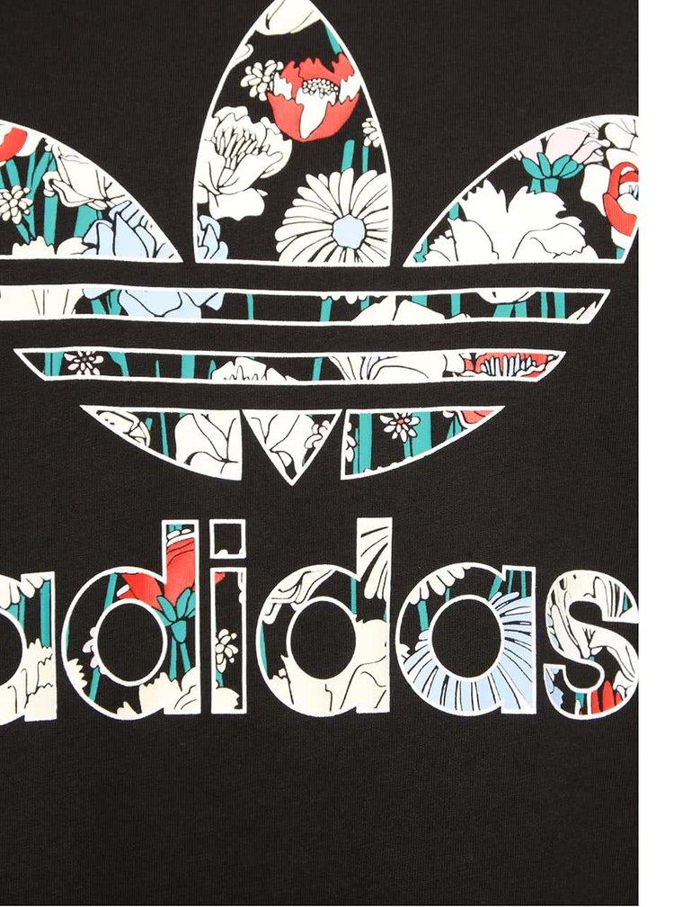 Top negru adidas Originals Loose