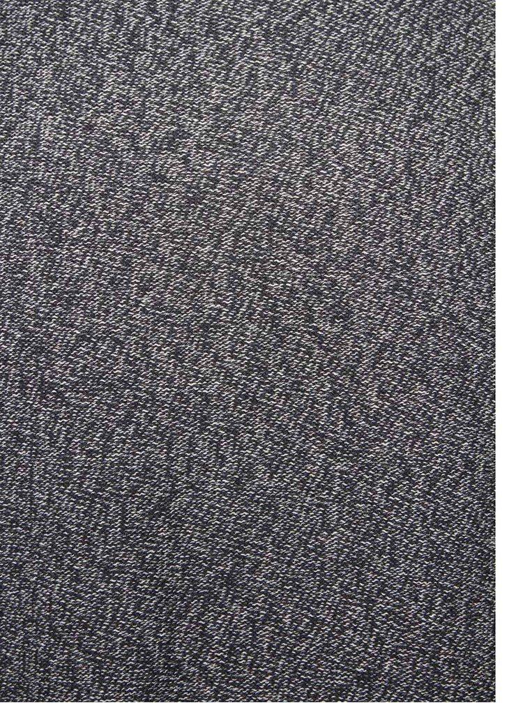 Tmavě modrý žíhaný svetr !Solid Erno