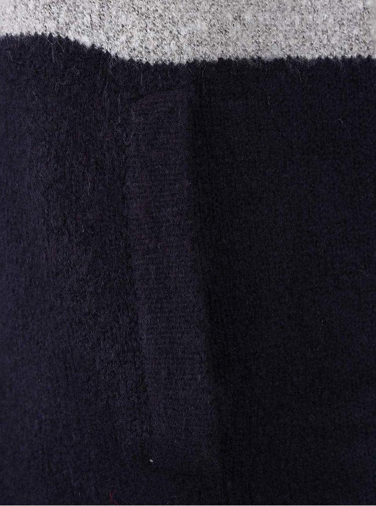 Sivo-modrý kardigan so širokými pruhmi Dorothy Perkins