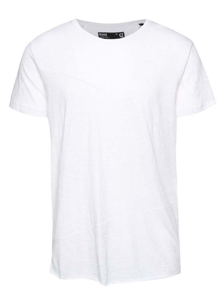 Biele tričko !Solid Elfred
