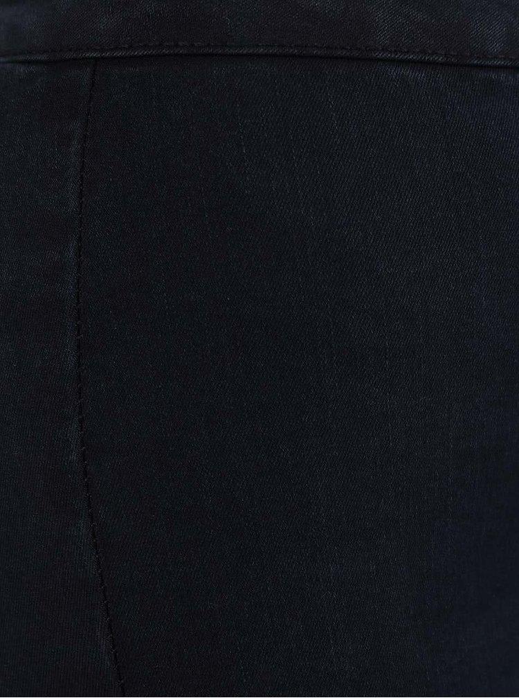 Blugi bleumarin Dorothy Perkins cu talie înaltă