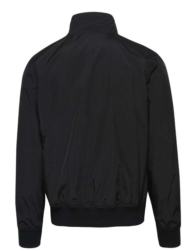 Černá bunda na zip !Solid Duka