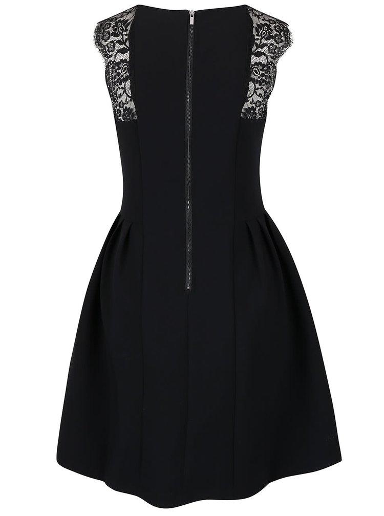 Černé šaty bez rukávů VILA