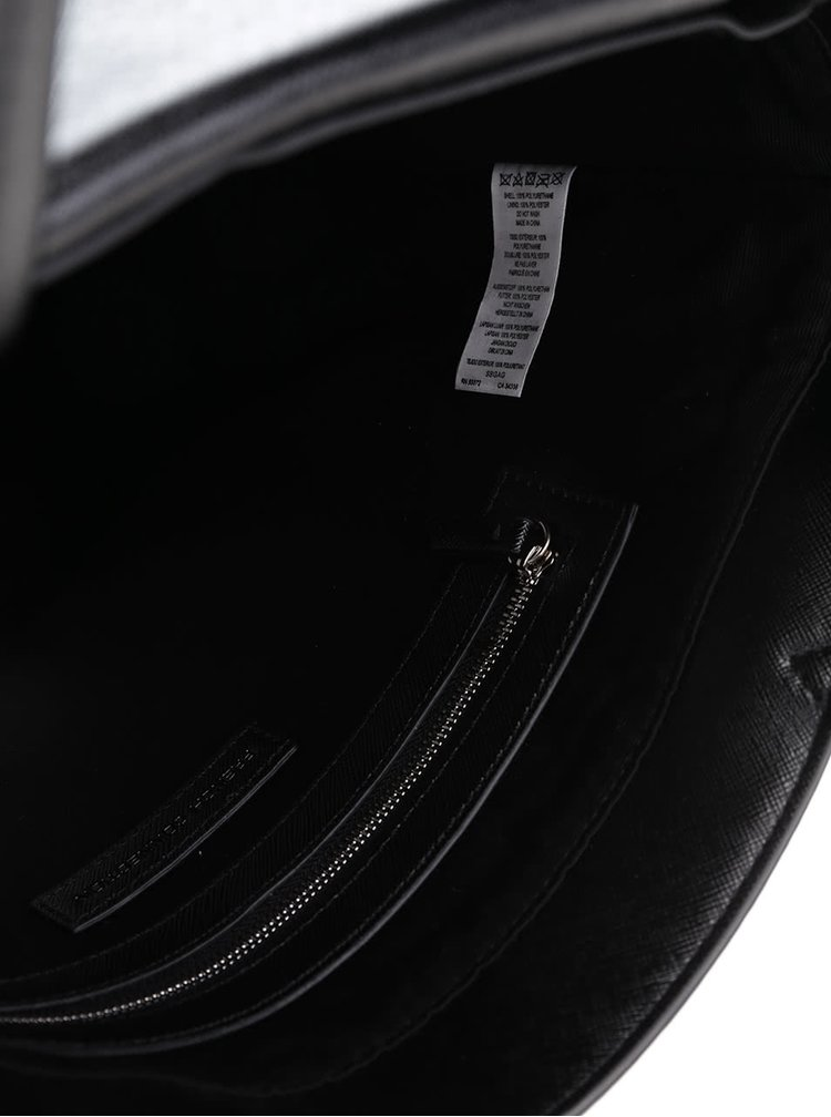 Čierna väčšia kabelka do ruky French Connection