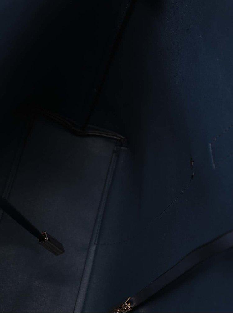 Modrý shopper s kapsami ALDO Vulcan