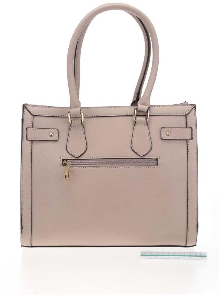 Béžová kabelka s detaily ve zlaté barvě ALDO Gilliam