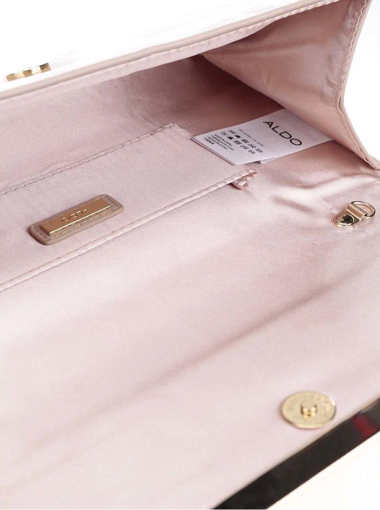 Béžová umývateľná listová kabelka ALDO Valledoria