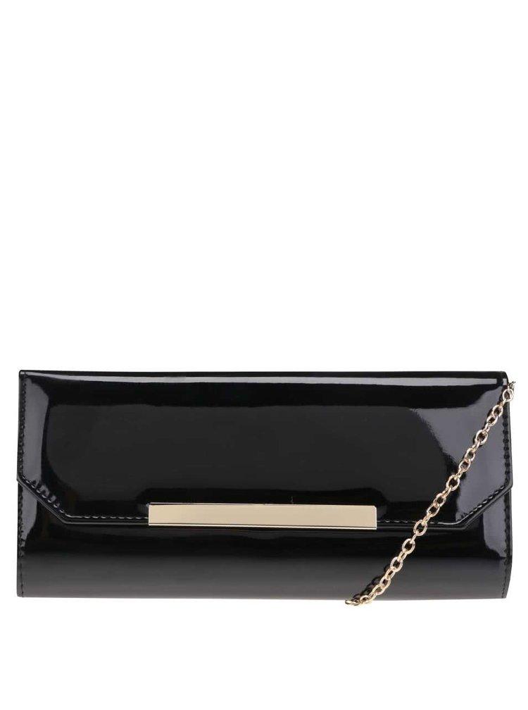 Čierna listová kabelka ALDO Valledoria