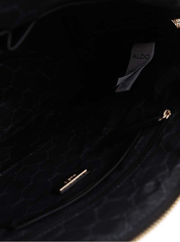 Černá prošívaná kabelka ALDO Dironace