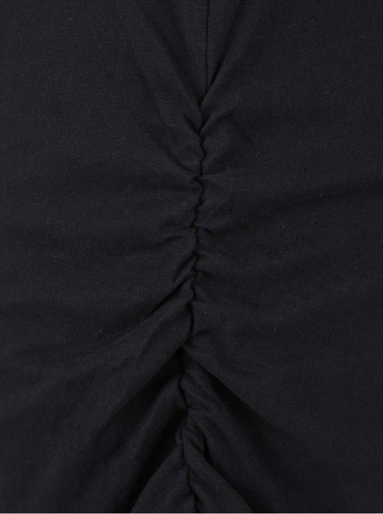 Černé dámské delší tričko Ragwear Coffe Organic