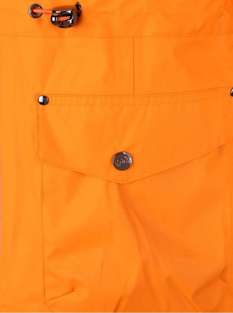 Oranžová ľahká parka Camilla Morch Grebbestad
