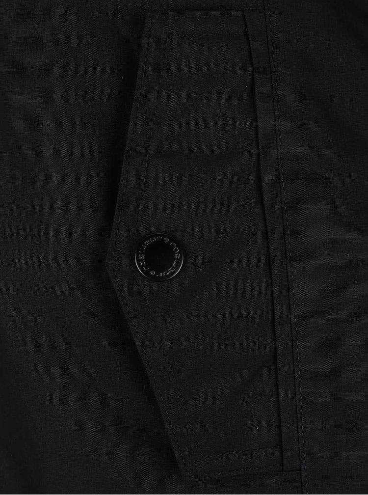 Černá dámská bunda s kapucí Ragwear Monade