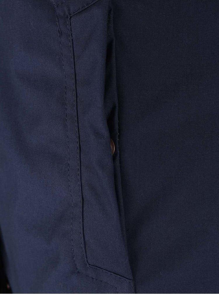 Tmavomodrá dámska bunda s kapucňou Ragwear Ewok
