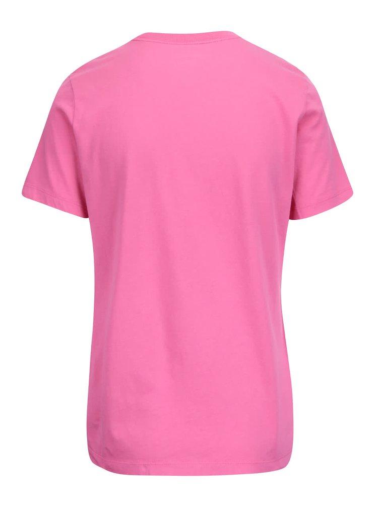 Tricou roz Converse de damă