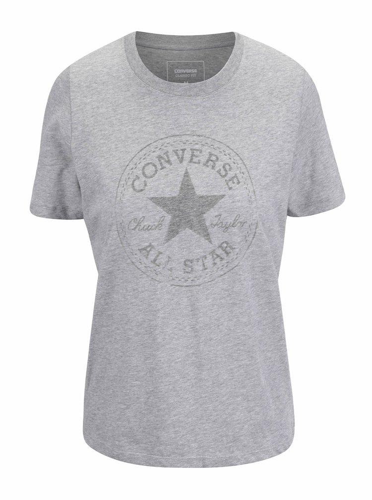 Tricou gri Converse de damă
