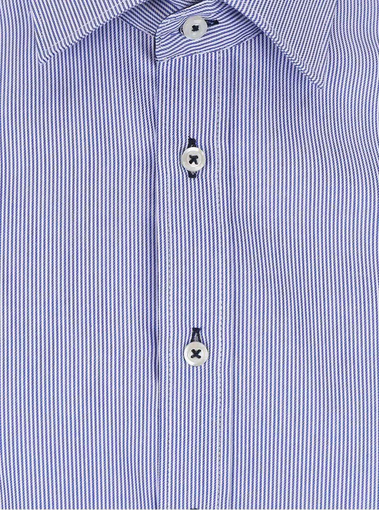 Svetlomodrá pruhovaná pánska košeľa Seven Seas