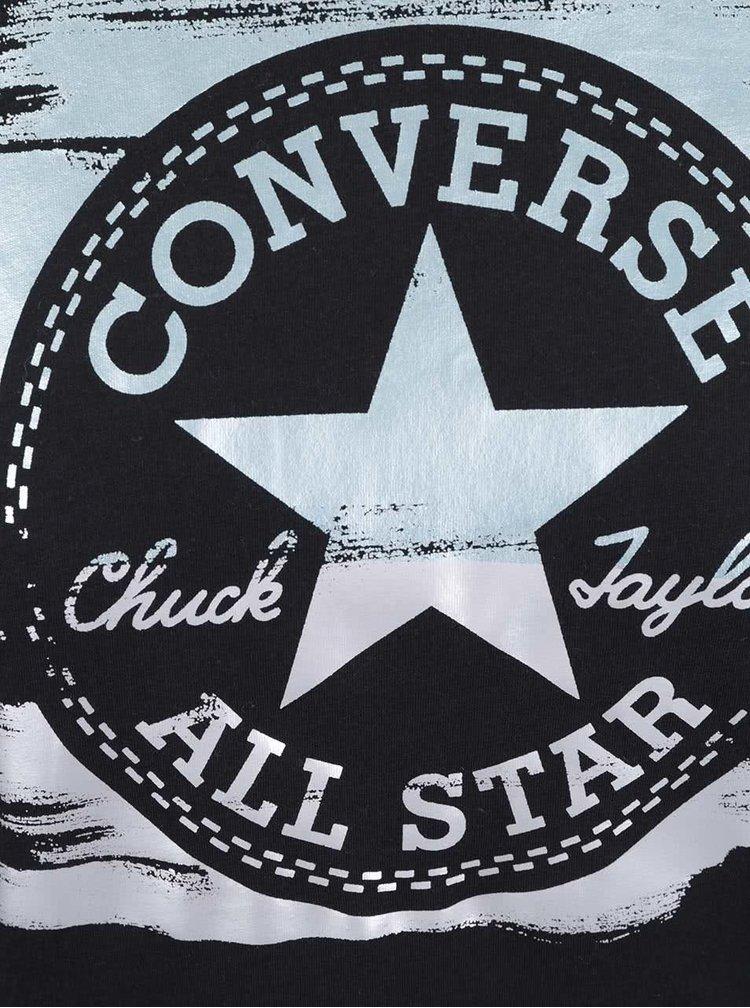 Tricou negru Converse de damă
