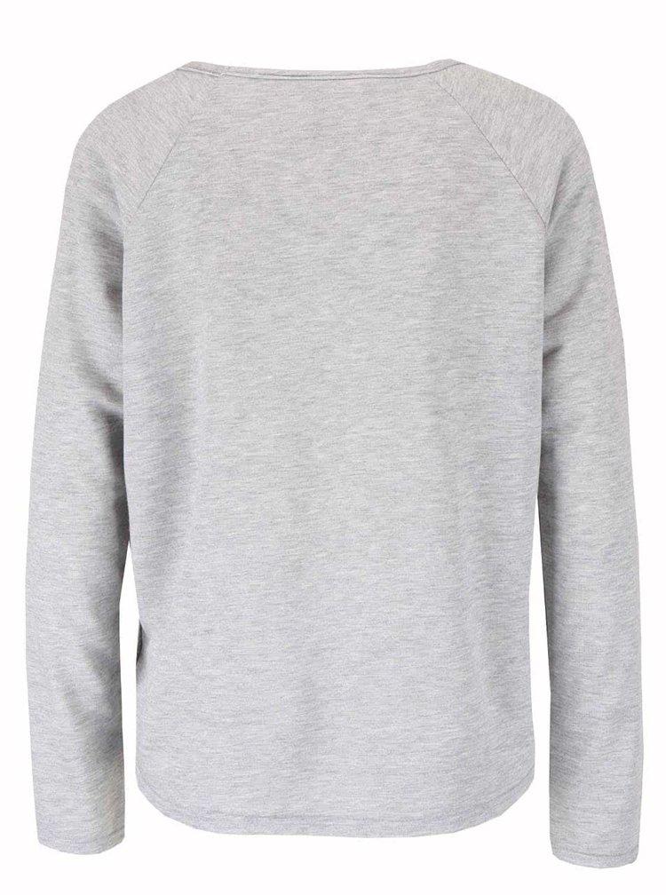 Šedé tričko Haily´s Mick