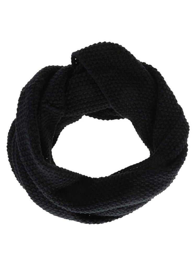 Fular negru Selected Homme Tube pentru barbati