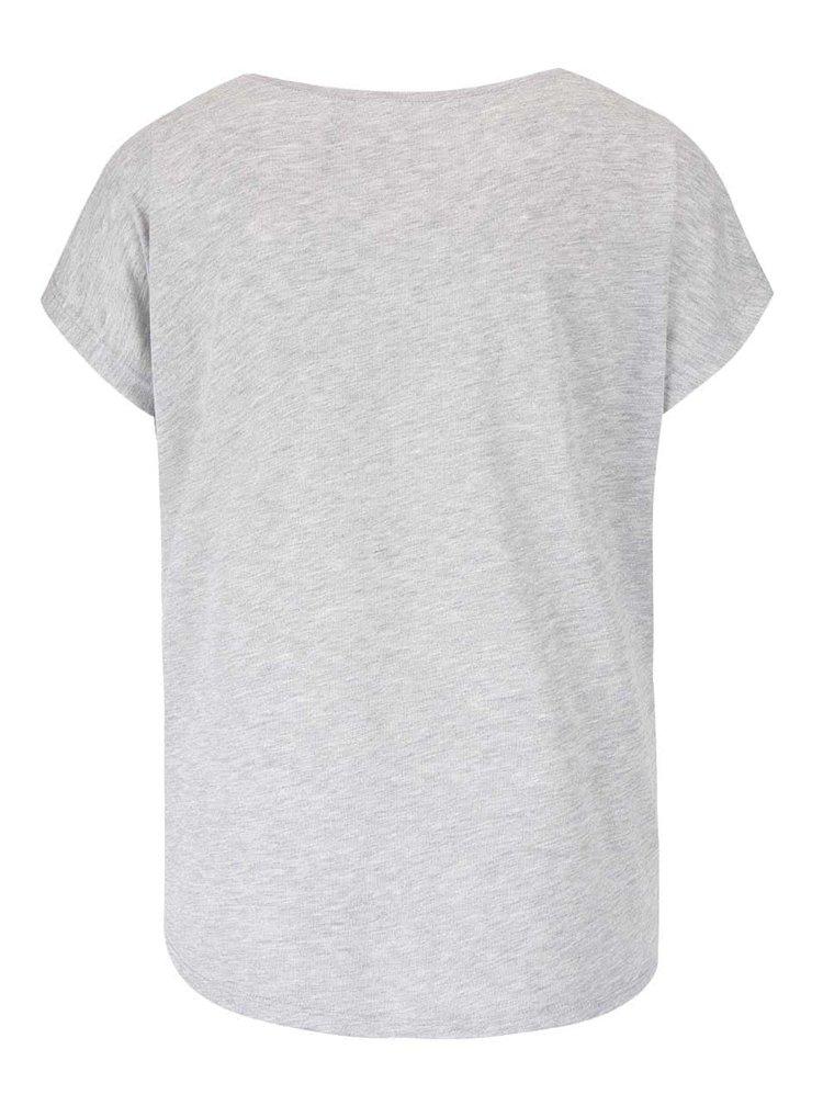Svetlosivé tričko Haily's M&M