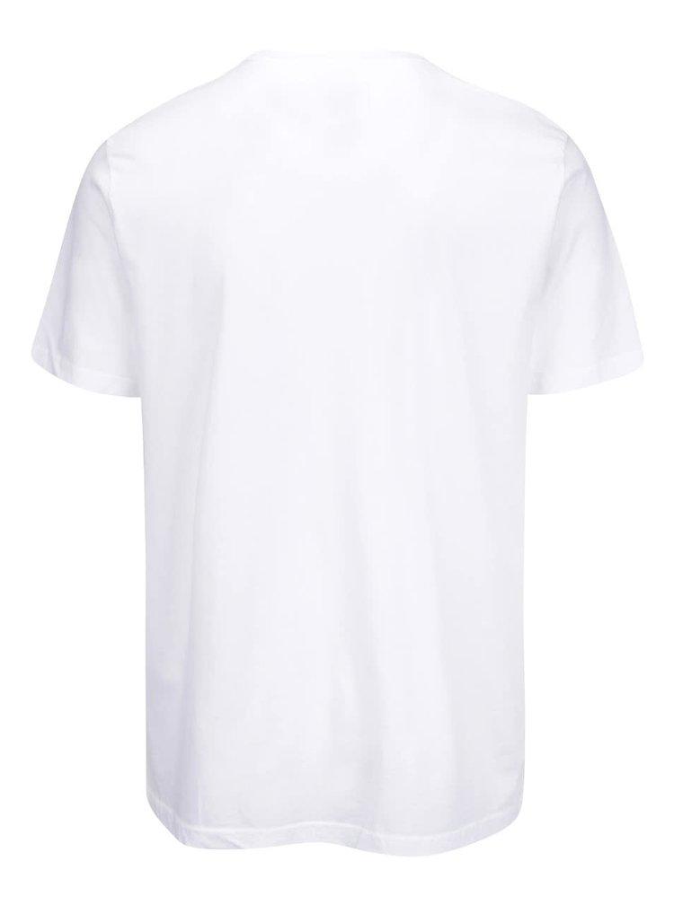 Tricou alb cu logo pentru barbati Converse Core