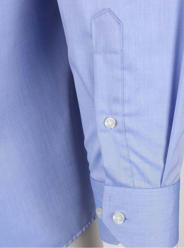 Světle modrá formální košile Seven Seas