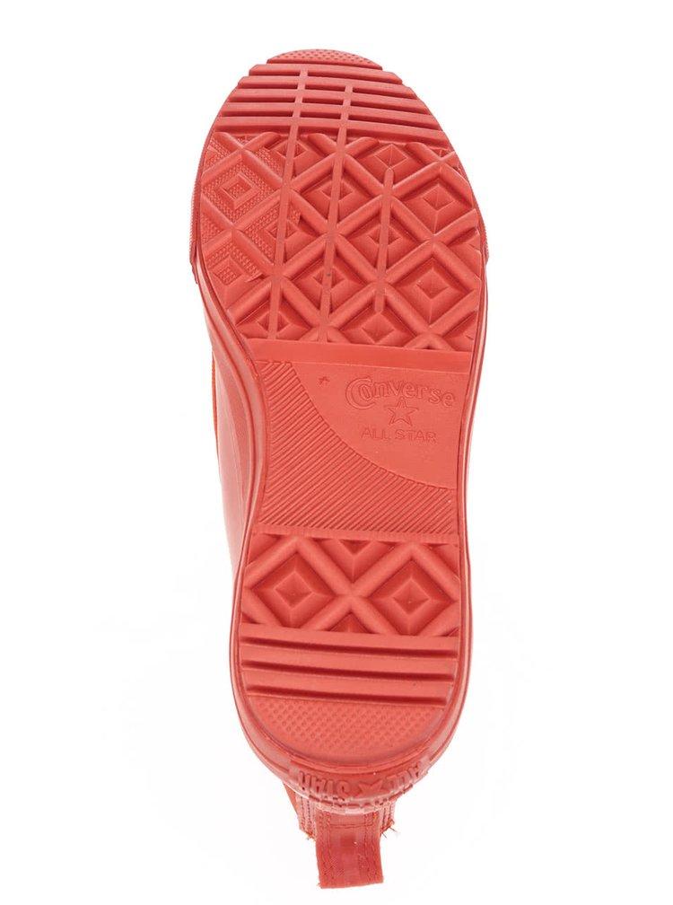Červené dámské kotníkové boty Converse Chuck Taylor All Star Chelsea Boot