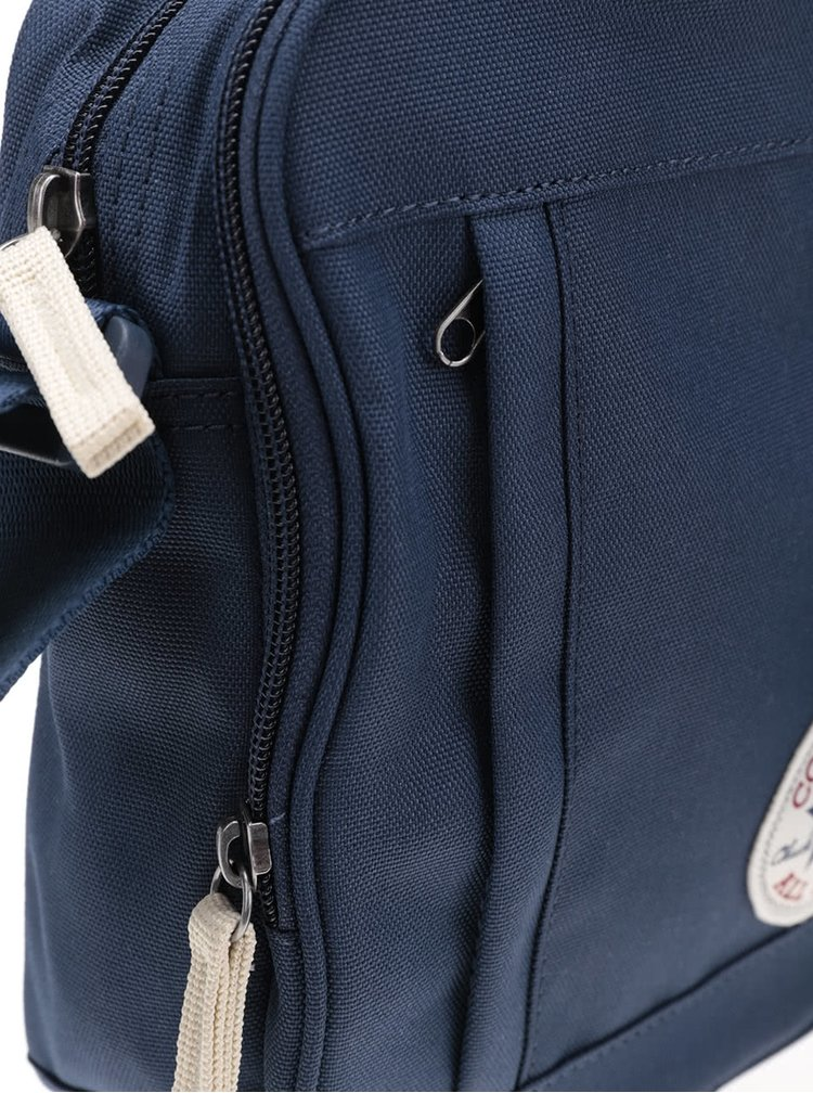 Tmavomodrá crossbody taška s logom Converse