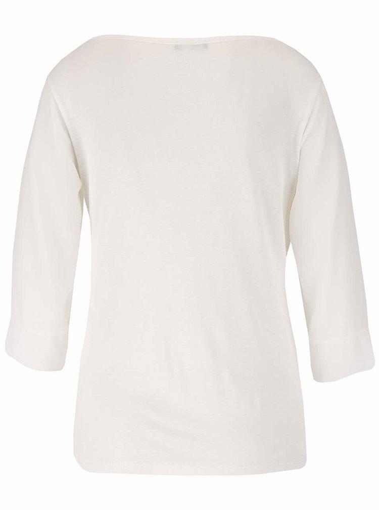 Bluză crem Haily's Erena cu drapaje