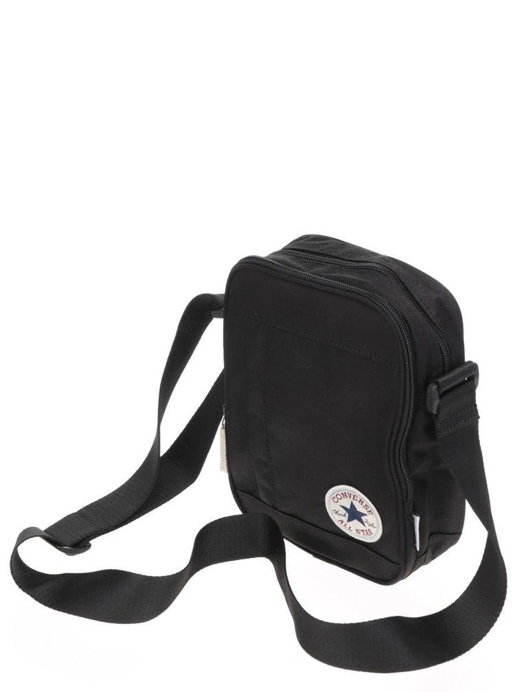 Čierna crossbody taška s logom Converse