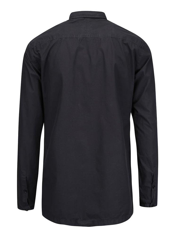 Tmavě šedá košile Selected Homme Two