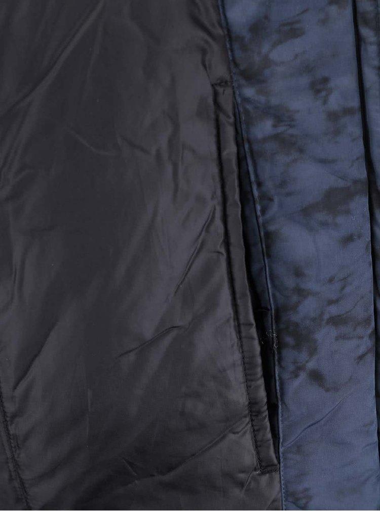 Tmavě modrý vzorovaný bomber Selected Homme Nfilson