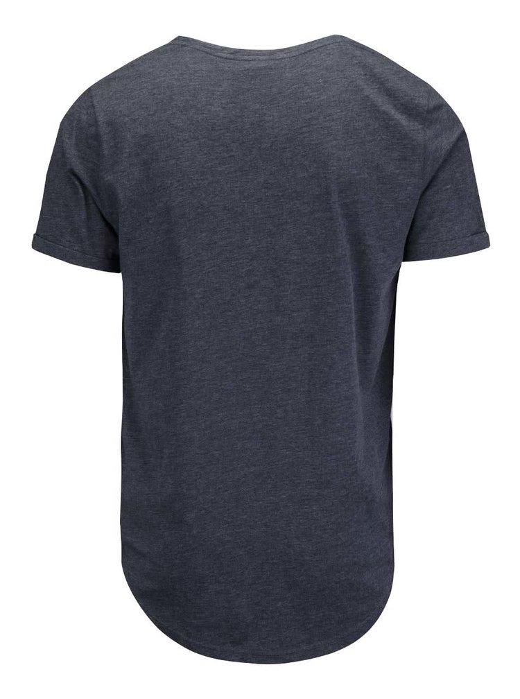 Tricou bleumarin Ragwear Bartie cu imprimeu