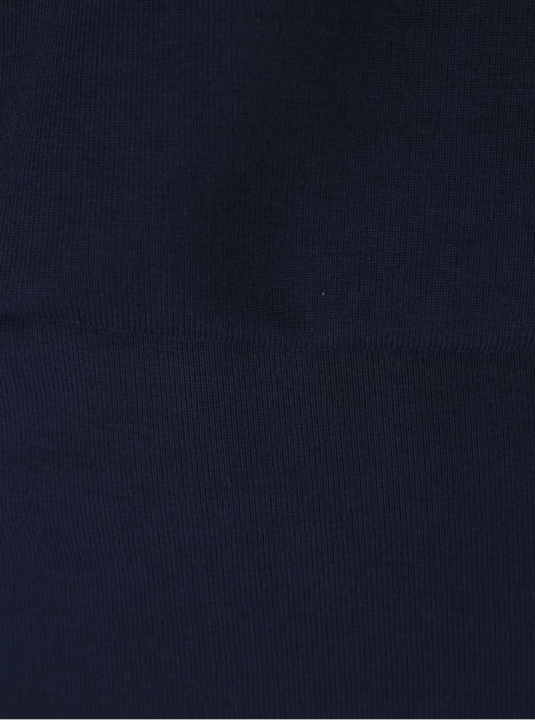 Tmavomodré šaty s 3/4 rukávmi VERO MODA Orpo