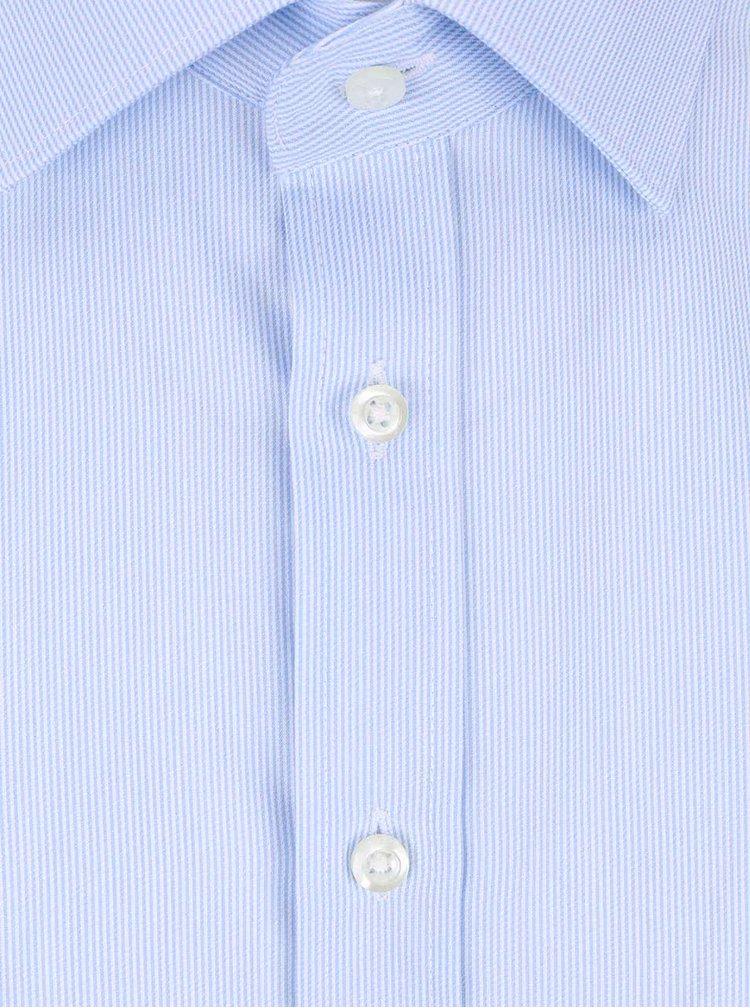 Camasa albastra deschis Seven Seas slimt fit din bumbac