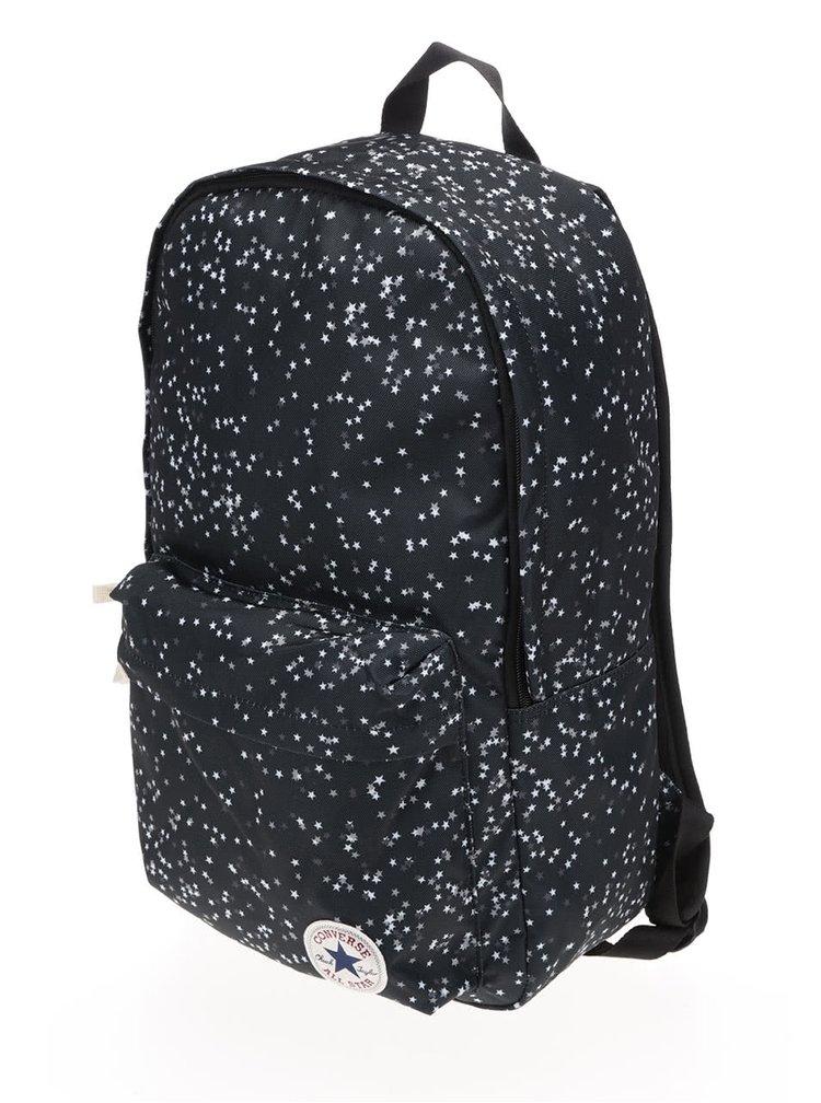 Zelenošedý batoh s motivem hvězd Converse Core Poly