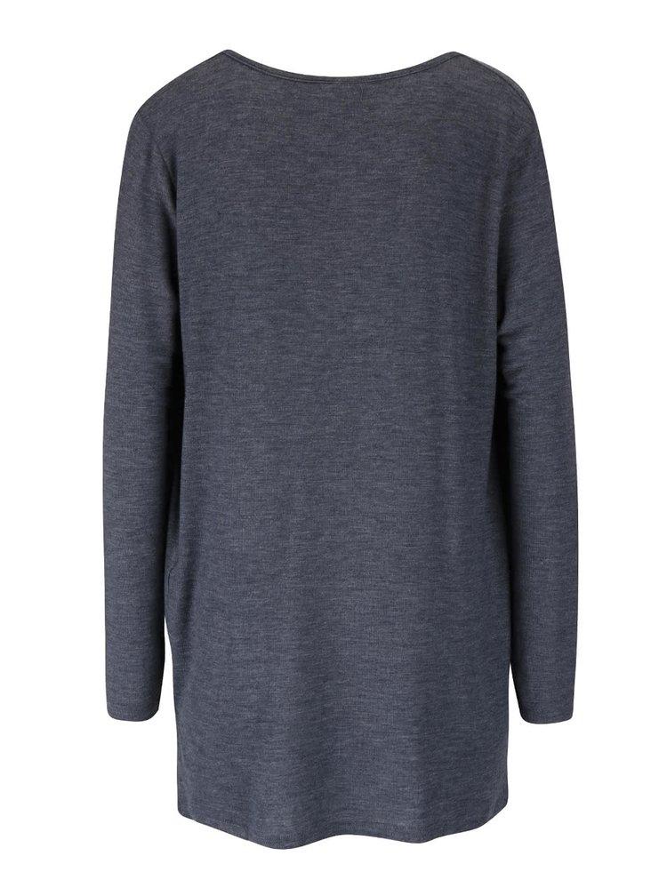 Bluză gri închis VERO MODA Honie