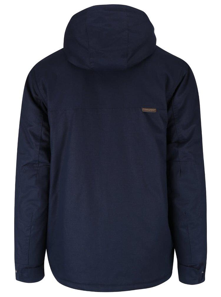 Tmavomodrá pánska bunda s priestrannými vreckami Ragwear Conrad