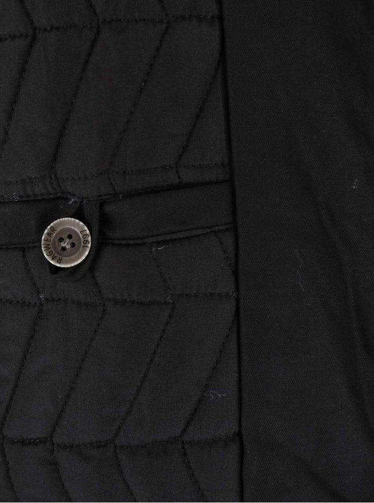 Černá pánská bunda Ragwear Percy
